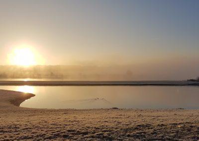 Zonsopkomst in mist 29 december 2016 - 4